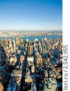 Небоскребы Нью-Йорка (2010 год). Стоковое фото, фотограф Elnur / Фотобанк Лори