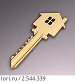 Ключ от квартиры или дома, иллюстрация № 2544339 (c) Геннадий Соловьев / Фотобанк Лори