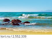 Морской пейзаж, Греция, остров Крит (2010 год). Стоковое фото, фотограф ElenArt / Фотобанк Лори