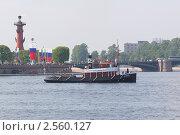 Купить «Парад старых пароходов», фото № 2560127, снято 28 мая 2011 г. (c) Юрий Каркавцев / Фотобанк Лори