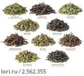 Купить «Коллекция китайского чая», фото № 2562355, снято 17 мая 2011 г. (c) Анна Кучерова / Фотобанк Лори