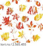 Фон с осенними листьями. Стоковая иллюстрация, иллюстратор Павел Коновалов / Фотобанк Лори