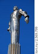 Купить «Москва, площадь Гагарина, памятник Ю.А. Гагарину», эксклюзивное фото № 2569799, снято 31 марта 2011 г. (c) lana1501 / Фотобанк Лори