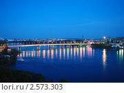 Купить «Мост через Томь. Кемерово», фото № 2573303, снято 25 июня 2019 г. (c) Валерий Тырин / Фотобанк Лори