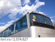Купить «Автобус, перевозящий детей», фото № 2574827, снято 3 июня 2011 г. (c) Илюхина Наталья / Фотобанк Лори
