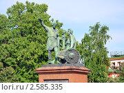 Купить «Памятник Минину и Пожарскому (Москва)», фото № 2585335, снято 2 января 2008 г. (c) Мастепанов Павел / Фотобанк Лори