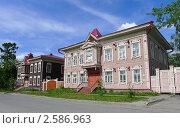 Деревянные дома в Томске (2011 год). Стоковое фото, фотограф Александр Верховцев / Фотобанк Лори