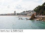 Купить «Коста Брава. Морской пейзаж. Испания», фото № 2589523, снято 6 июня 2011 г. (c) Екатерина Овсянникова / Фотобанк Лори