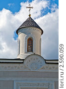 Фрагмент церкви. Стоковое фото, фотограф Евгений Липский / Фотобанк Лори