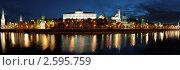Вид на Кремль ранним утром, панорама, фото № 2595759, снято 8 июня 2011 г. (c) Угоренков Александр / Фотобанк Лори