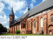 Купить «Кафедральный собор - историческое наследие города Калининграда», эксклюзивное фото № 2601867, снято 23 мая 2011 г. (c) Svet / Фотобанк Лори