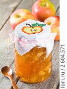 Купить «Варенье из яблок», эксклюзивное фото № 2604571, снято 15 июня 2011 г. (c) Давид Мзареулян / Фотобанк Лори