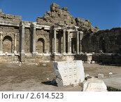 Древние развалины, Турция. Стоковое фото, фотограф Александр Верховцев / Фотобанк Лори