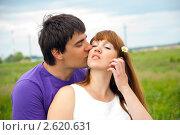 Купить «Влюбленные», эксклюзивное фото № 2620631, снято 18 июня 2011 г. (c) Куликова Вероника / Фотобанк Лори