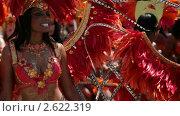 Купить «Карибский фестиваль в Торонто», видеоролик № 2622319, снято 1 августа 2010 г. (c) Игорь Киселёв / Фотобанк Лори