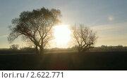 Купить «Рассвет над озером», видеоролик № 2622771, снято 28 октября 2010 г. (c) Михаил Коханчиков / Фотобанк Лори