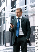 Молодой и успешный бизнесмен. Стоковое фото, фотограф Анисимов Леонид / Фотобанк Лори