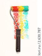 Малярный инструмент. Стоковое фото, фотограф Александр Кадацкий / Фотобанк Лори