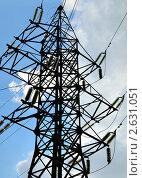 Линия электропередачи. Стоковое фото, фотограф Владислав Сернов / Фотобанк Лори