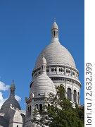 Франция, Париж, Базилика Святого Сердца (Basilique du Sacré Cœur) (2010 год). Стоковое фото, фотограф Sergii Korshun / Фотобанк Лори