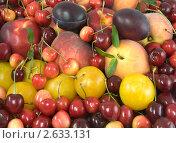 Купить «Ассорти из фруктов», фото № 2633131, снято 2 июля 2011 г. (c) Наталья Волкова / Фотобанк Лори