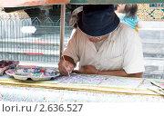 Купить «Художник реставратор», фото № 2636527, снято 10 июня 2011 г. (c) Антон Железняков / Фотобанк Лори
