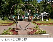 Купить «Москва, памятник «Всем влюбленным» в саду «Эрмитаж»», фото № 2638019, снято 5 июня 2011 г. (c) ИВА Афонская / Фотобанк Лори