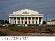 Биржевая площадь, Санкт-Петербург (2011 год). Редакционное фото, фотограф Татьяна Иванова / Фотобанк Лори