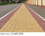 Тротуар. Стоковое фото, фотограф Иван Оленичев / Фотобанк Лори