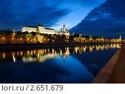 Московский Кремль ночью, фото № 2651679, снято 8 июня 2011 г. (c) Угоренков Александр / Фотобанк Лори