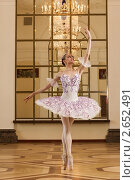 Купить «Балерина танцует», фото № 2652491, снято 27 мая 2011 г. (c) Дмитрий Черевко / Фотобанк Лори