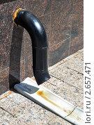 Купить «Водосточная труба», фото № 2657471, снято 14 июля 2011 г. (c) Круглов Олег / Фотобанк Лори