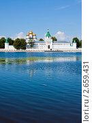 Купить «Православный Свято-Троицкий Ипатьевский монастырь в Костроме», фото № 2659431, снято 14 июля 2011 г. (c) ElenArt / Фотобанк Лори