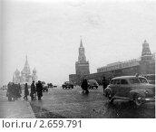 Купить «Москва, Красная площадь», фото № 2659791, снято 19 февраля 2019 г. (c) Максим Гулячик / Фотобанк Лори