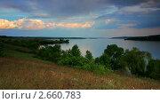 Купить «Пейзаж с видом на Днепр. Таймлапс снят слайдером.», видеоролик № 2660783, снято 13 мая 2011 г. (c) ILLYCH / Фотобанк Лори