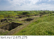 Купить «Руины Танаиса», фото № 2675275, снято 14 мая 2011 г. (c) Борис Панасюк / Фотобанк Лори