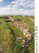 Купить «Руины Танаиса», фото № 2675303, снято 14 мая 2011 г. (c) Борис Панасюк / Фотобанк Лори