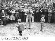 Чечня до войны. Махмуд Эсамбаев и юные танцоры. Редакционное фото, фотограф Артур Батчаев / Фотобанк Лори