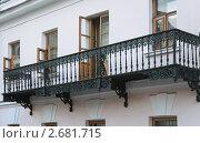 Купить «Старый кованый балкон», эксклюзивное фото № 2681715, снято 18 сентября 2009 г. (c) Алёшина Оксана / Фотобанк Лори