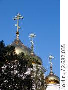 Собор Александр Невского, Краснодар (2011 год). Стоковое фото, фотограф Иван Демьянов / Фотобанк Лори
