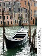 Купить «Канал в Венеции, гондола», фото № 2682623, снято 9 октября 2009 г. (c) Величко Микола / Фотобанк Лори