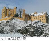 Замок Хоэншвангау. Стоковое фото, фотограф Григорьева Полина / Фотобанк Лори