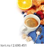 Купить «Завтрак», фото № 2690451, снято 29 июля 2011 г. (c) Наталия Кленова / Фотобанк Лори