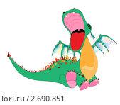 Купить «Дракон», иллюстрация № 2690851 (c) Шупейко Алексей / Фотобанк Лори