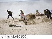 Атака морской пехоты (2011 год). Редакционное фото, фотограф Давыдов Юрий / Фотобанк Лори