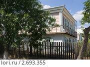 Купить «Угол казачьего дома в Вешенской», фото № 2693355, снято 15 июля 2011 г. (c) Борис Панасюк / Фотобанк Лори