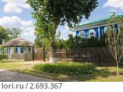 Купить «На улице Шолохова в Вешенской», фото № 2693367, снято 15 июля 2011 г. (c) Борис Панасюк / Фотобанк Лори