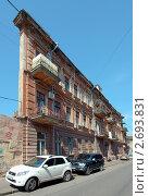 Купить «Дом-стена в Одессе», фото № 2693831, снято 1 августа 2011 г. (c) Некрасов Андрей / Фотобанк Лори