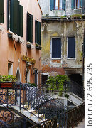 Отель в Венеции (2011 год). Стоковое фото, фотограф Соколик Виктор / Фотобанк Лори