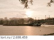 Гроза в Царицыно (2011 год). Редакционное фото, фотограф Сергей Родин / Фотобанк Лори